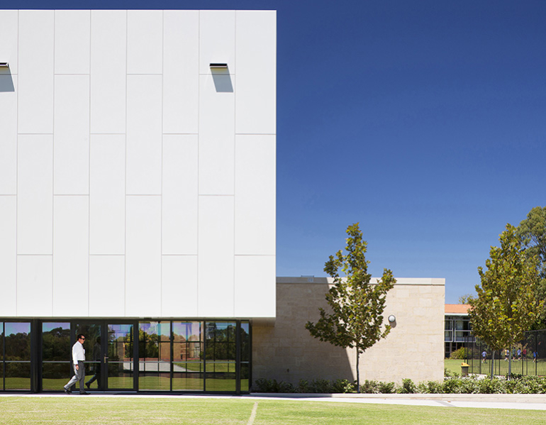 All Saints College Gymnasium Parry and Rosenthal Architects