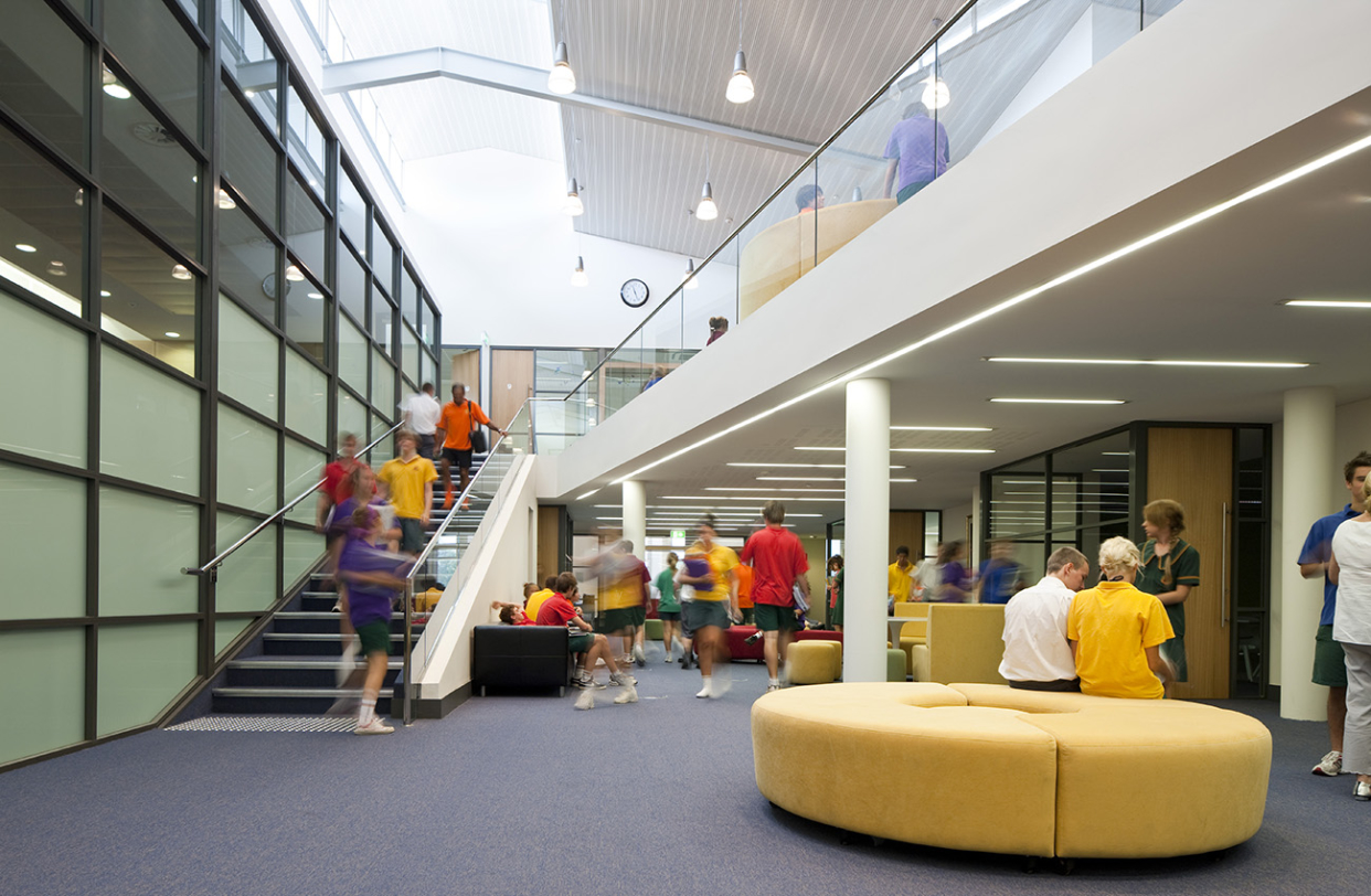 La Salle College Senior Learning Centre Parry and Rosenthal Architects