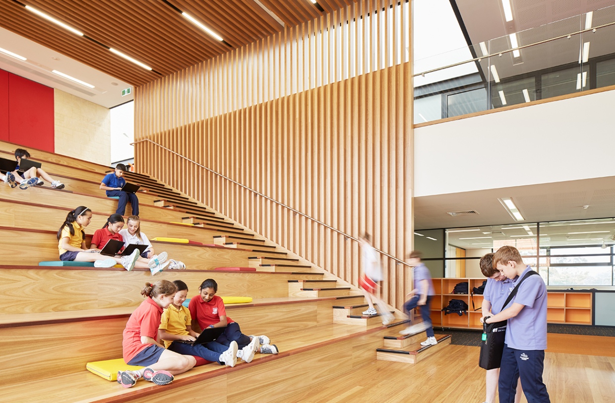 All Saints College Learning + Innovation Centre Parry and Rosenthal Architects