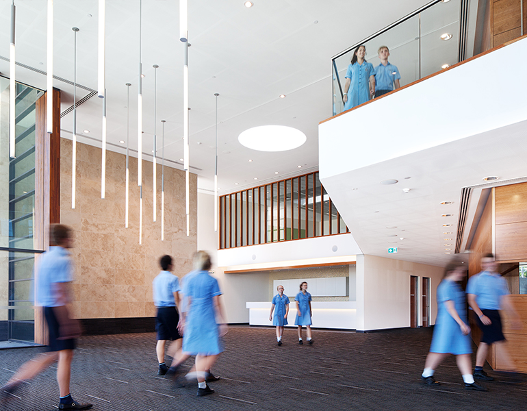 All Saints College Performing Arts Theatre Parry and Rosenthal Architects