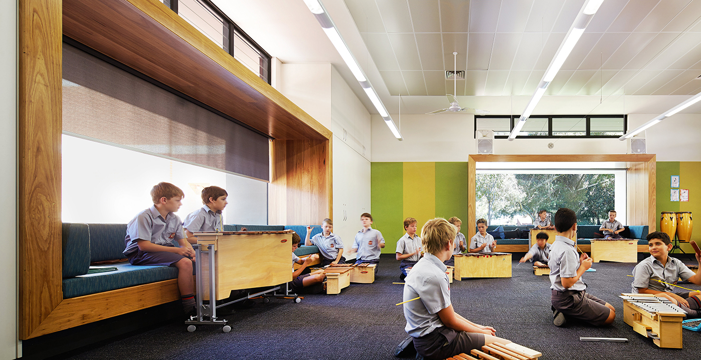 Aquinas Early Years Learning Centre Parry and Rosenthal Architects