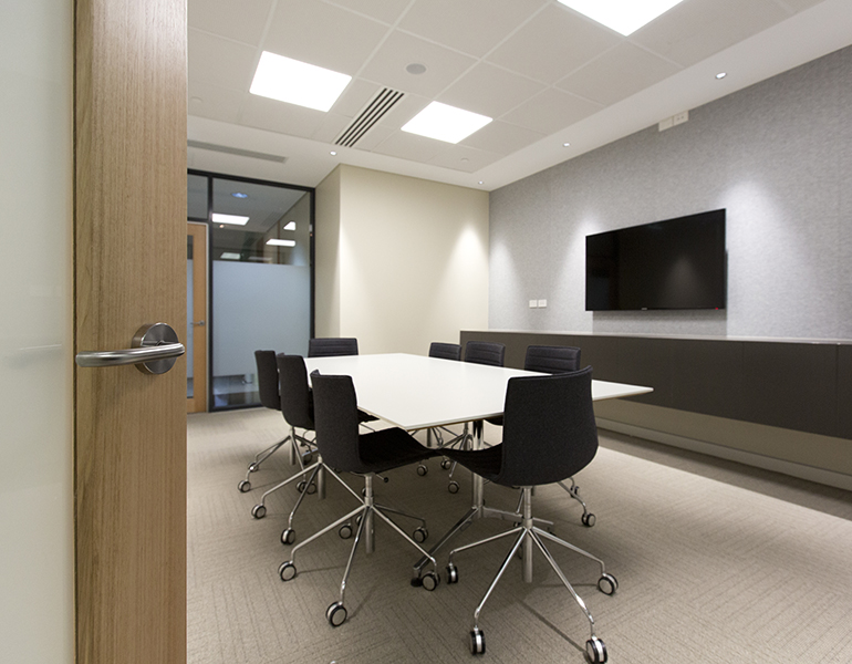Family Court Fit out Parry and Rosenthal Architects