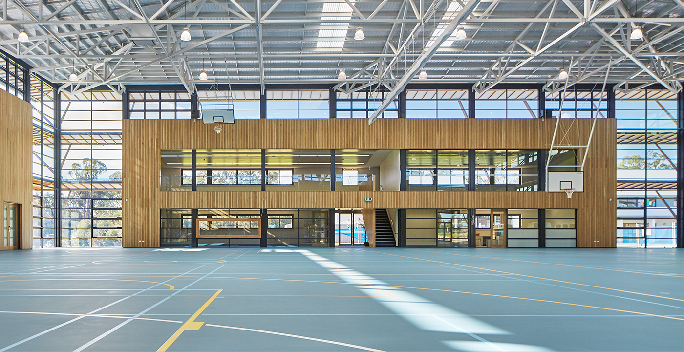 Peter Carnley Anglican School Gymnasium Parry and Rosenthal Architects