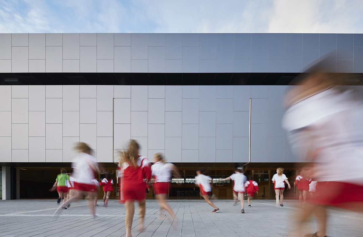 Sacred Heart College Gym Parry and Rosenthal Architects