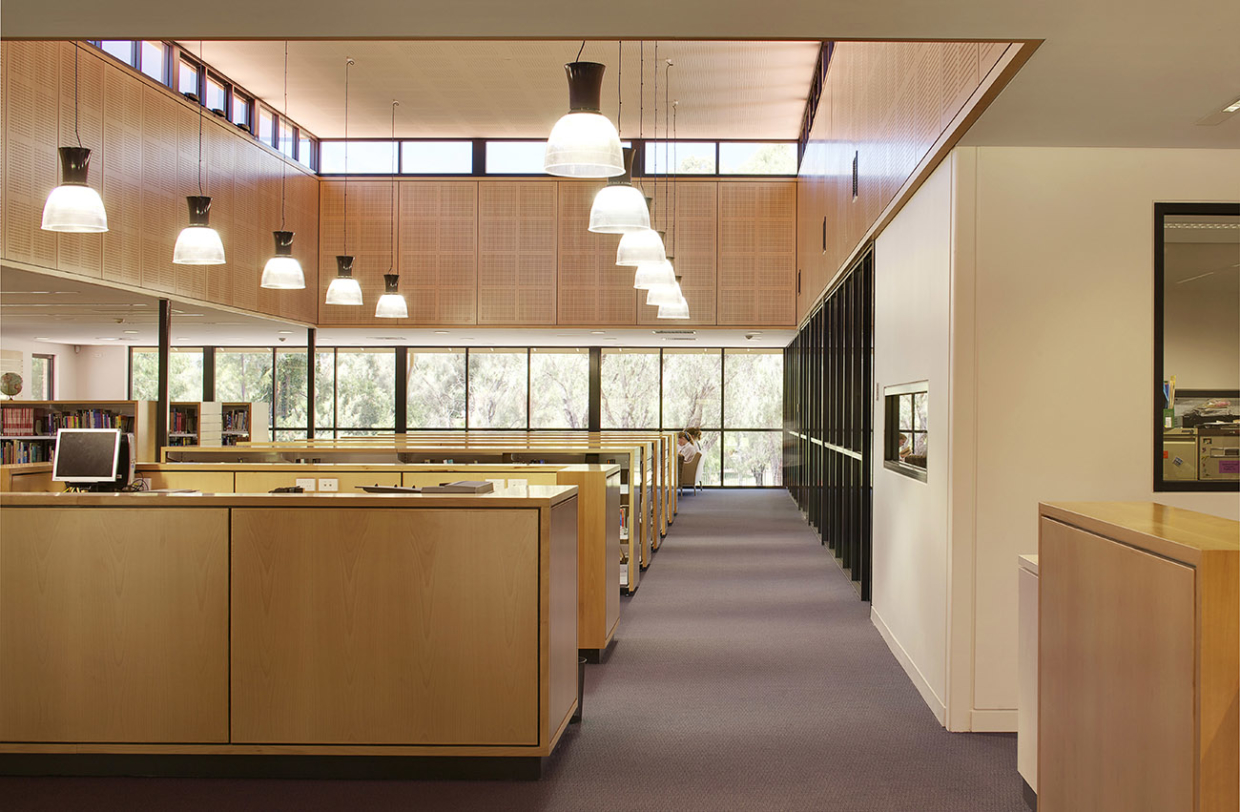 All Saints College Library Parry and Rosenthal Architects