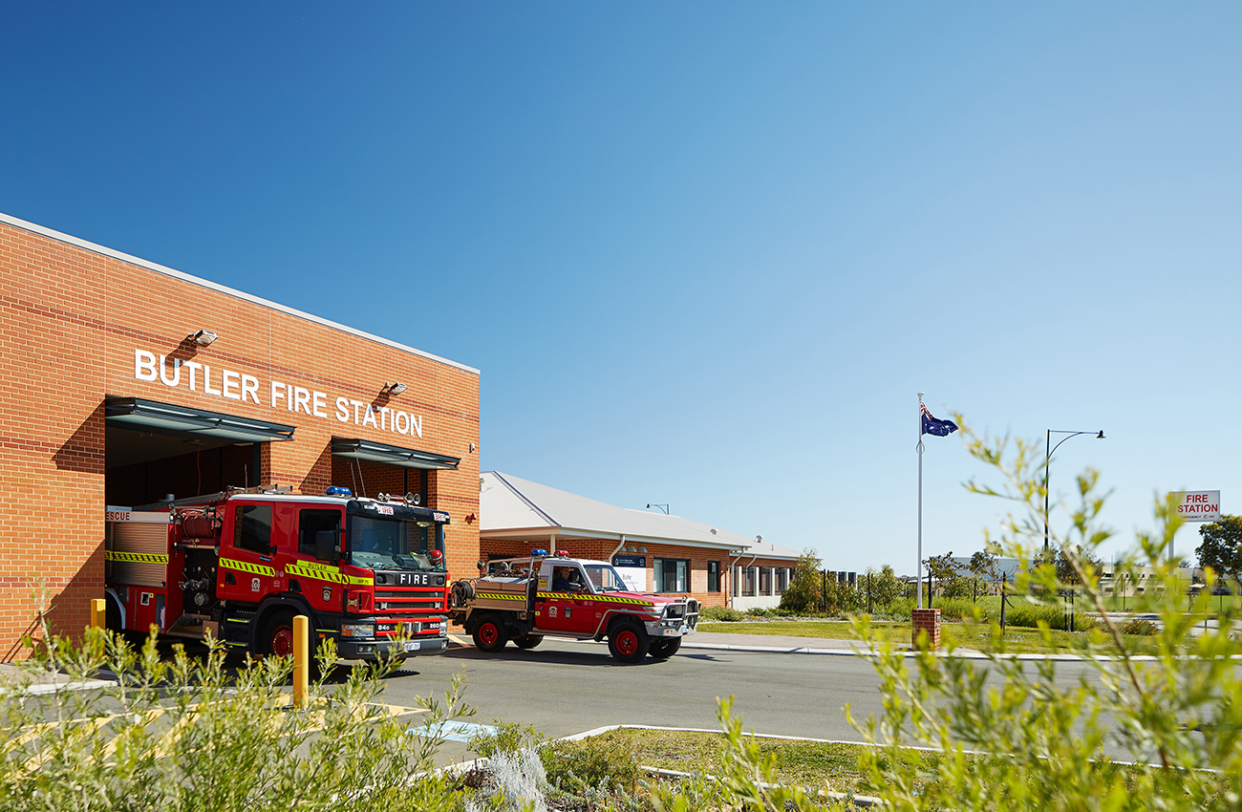 Butler Fire Station Parry and Rosenthal Architects