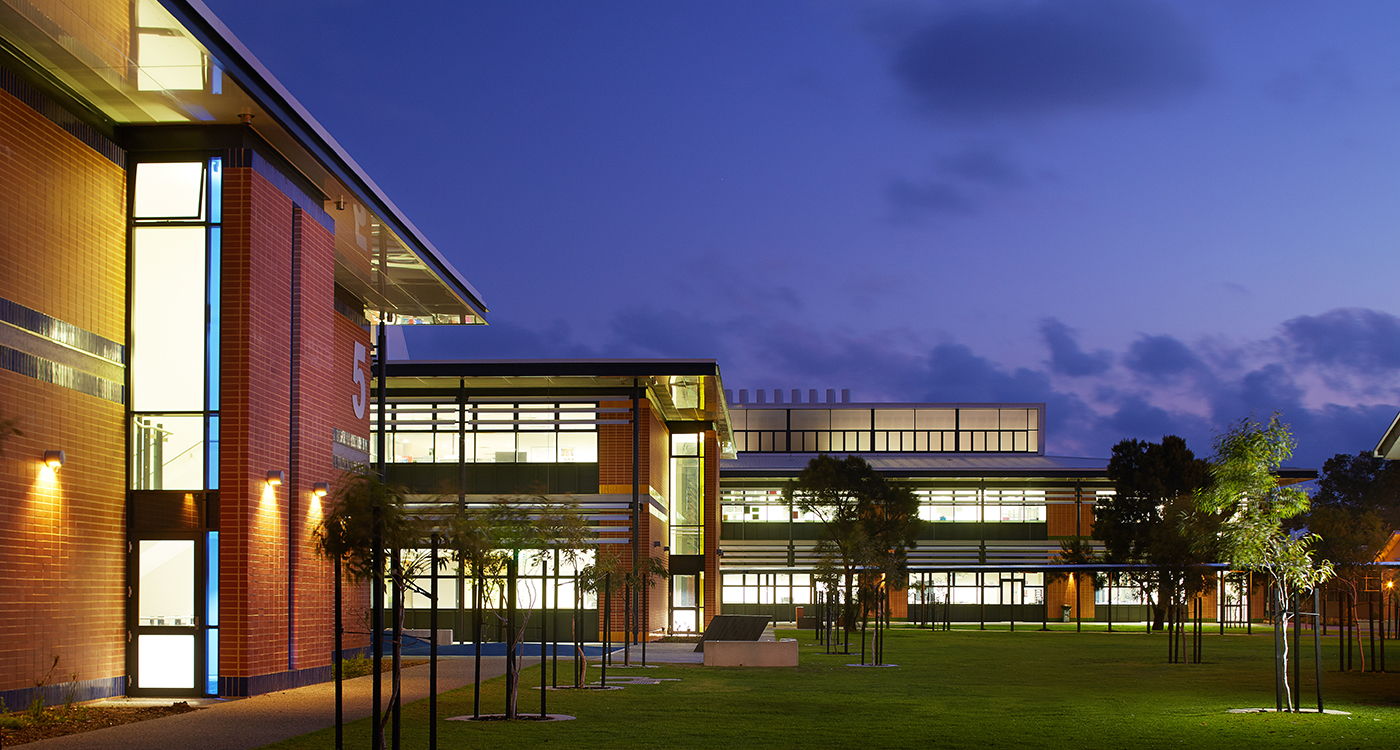 Halls Head College Parry and Rosenthal Architects
