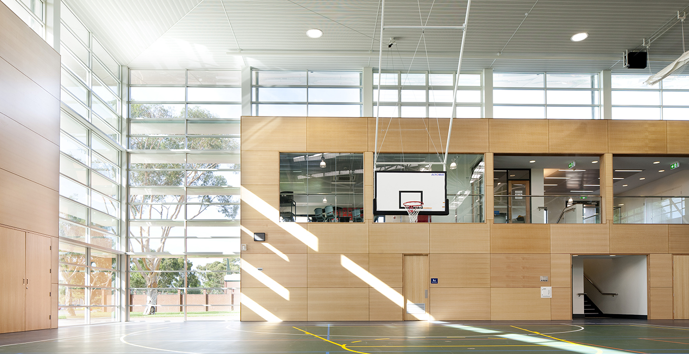 La Salle College Gymnasium Parry and Rosenthal Architects