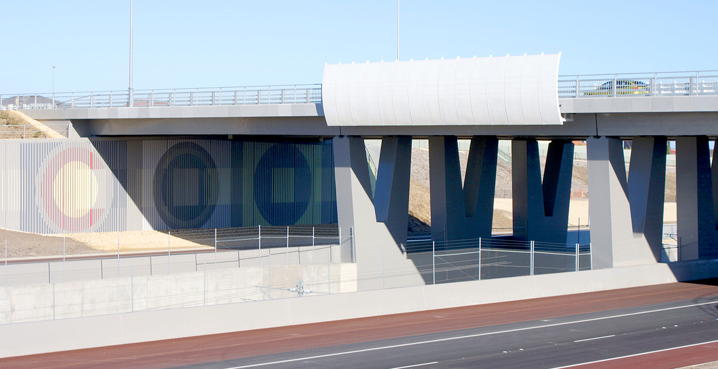Mitchell Freeway Extension Hodges Drive to Burns Beach Road Parry and Rosenthal Architects