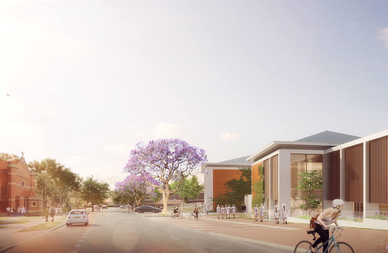 Senior Learning + Leadership Centre Perth College Parry and Rosenthal Architects