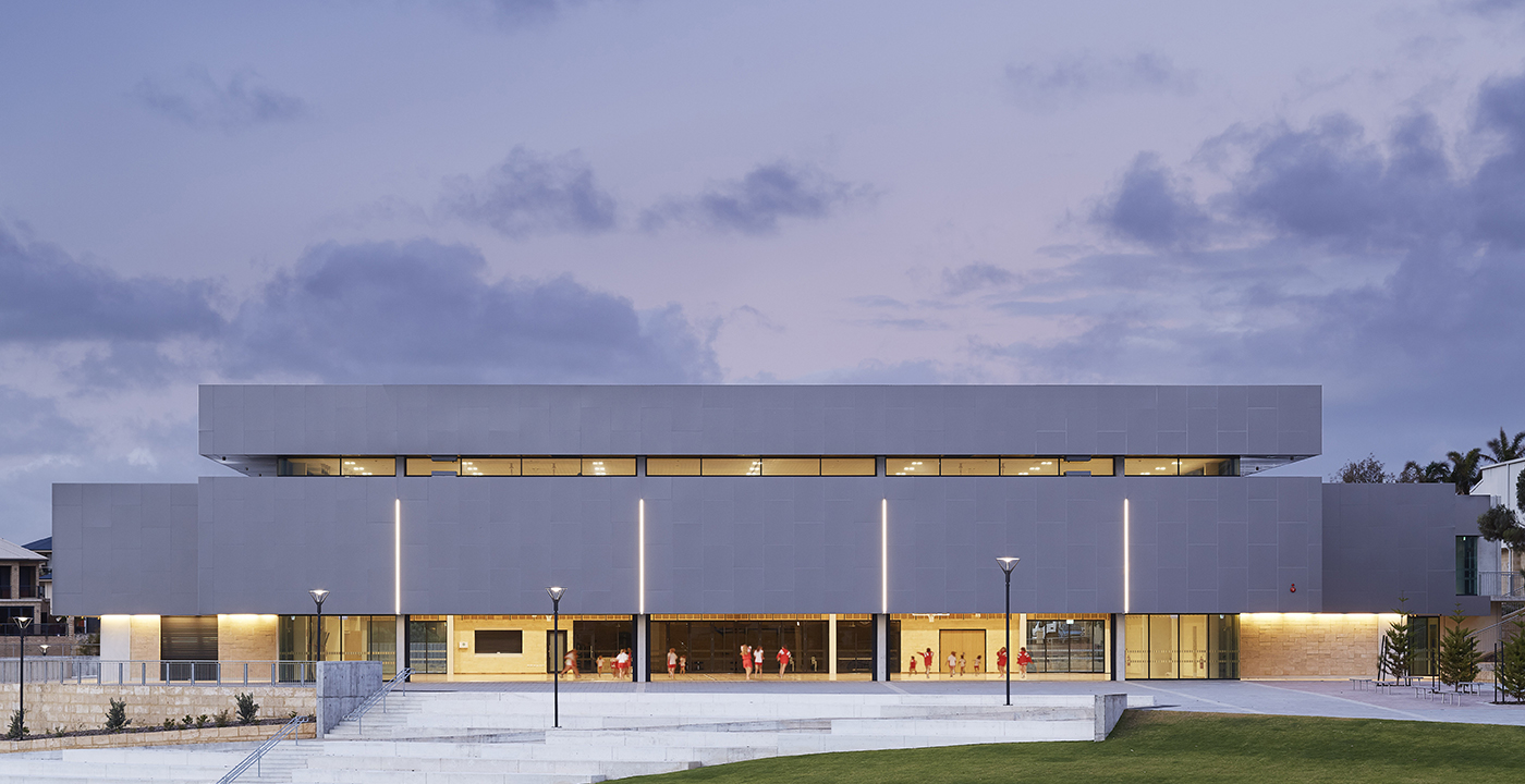 Sacred Heart College Gymnasium Parry and Rosenthal Architects