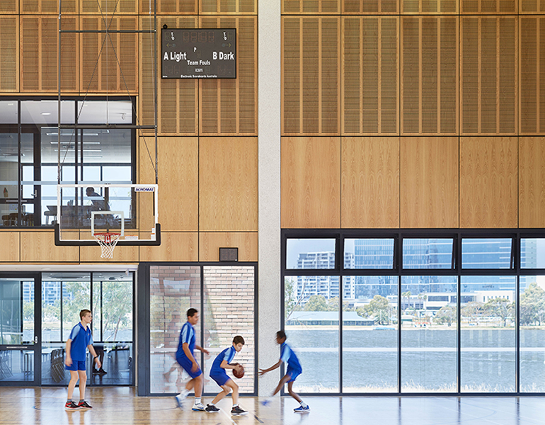 Trinity College Gymnasium Parry and Rosenthal Architects