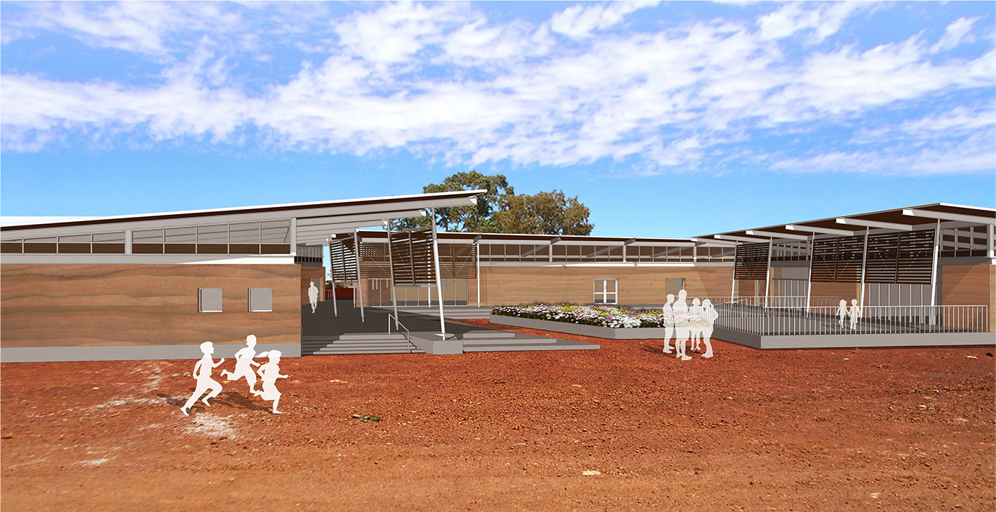 Yalgoo Community Centre Parry and Rosenthal Architects