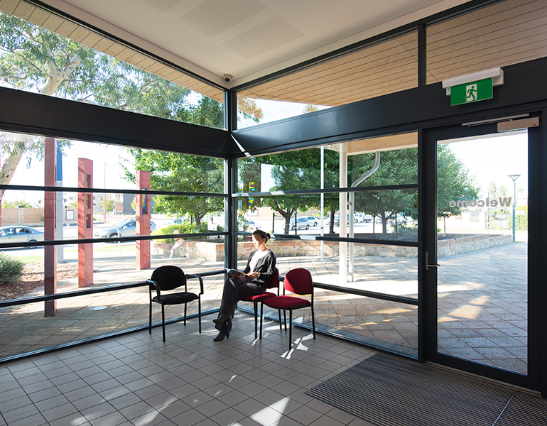 Canning Vale Police Station Parry and Rosenthal Architects