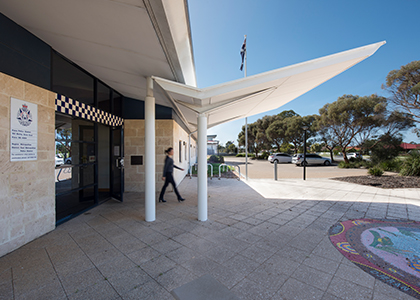 Kiara Police Station Parry and Rosenthal Architects