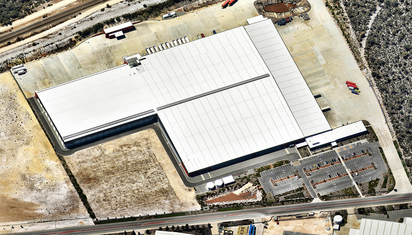 New Aldi Distribution Centre at Jandakot Parry and Rosenthal Architects