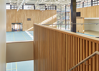 Peter Carnley Anglican Community School Gym - Parry and Rosenthal Architects