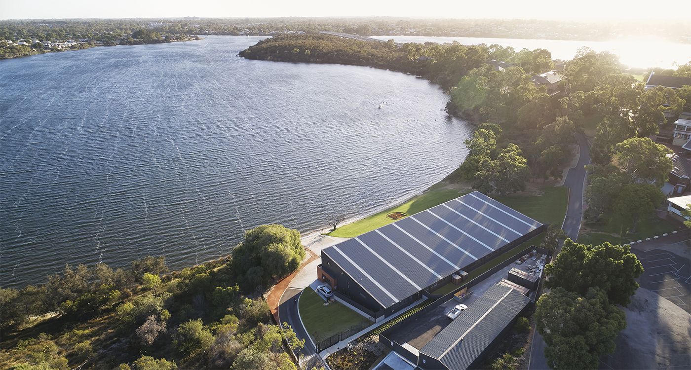 Aquinas Rowing Shed - Parry and Rosenthal Architects
